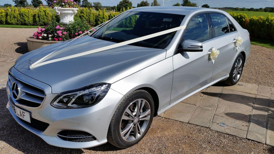 Mercedes Benz Wedding Car Golf Club Nottingham Front Dide