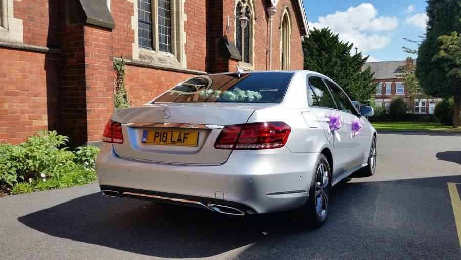 Mercedes Benz Wedding Car Wedding Fayre Rear